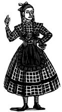 wood-engraving print: Fanny for The Runaway